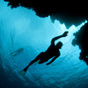 Freediving The Caves - with Linda Paganelli & Stefan Randig   Linda Paganelli, Stefan Randig and Jacques de Vos head out to 'The Caves' just south of Dahab. Despite being an overcast, winter January day the dive itself still turned out to be awesome...  © Music: Freestylers - Turn To Dust Emancipator - Greenland  Video Shot and edited by: Jacques de Vos - http://www.jdvos.com All filmed while Freediving...  Underwater Footage: Ikelite 7D Housing with 8'' Dome Port