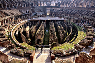 The Colosseum  Rome - Italy